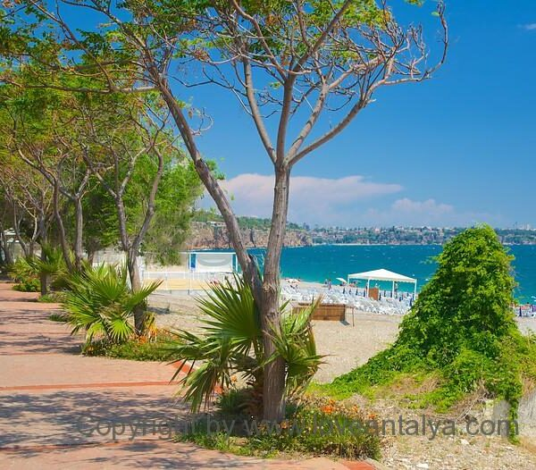 beach promenade konyaalti antalya