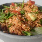 Tyrkisk bulgur salat