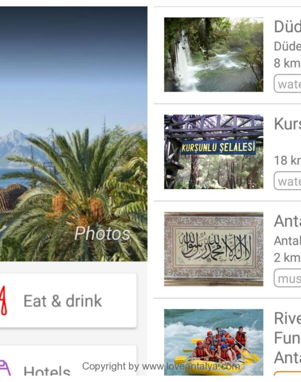 Turkey travel guide rejse apps