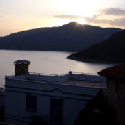 True Blue boutique hotel kalkan view sunset