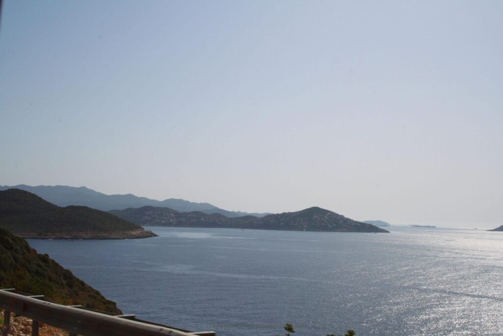 Coastal road from Antalya to Kalkan